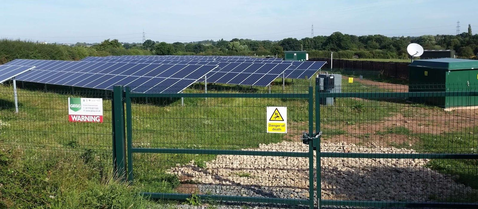 solar farm cleaning service - Cheshire