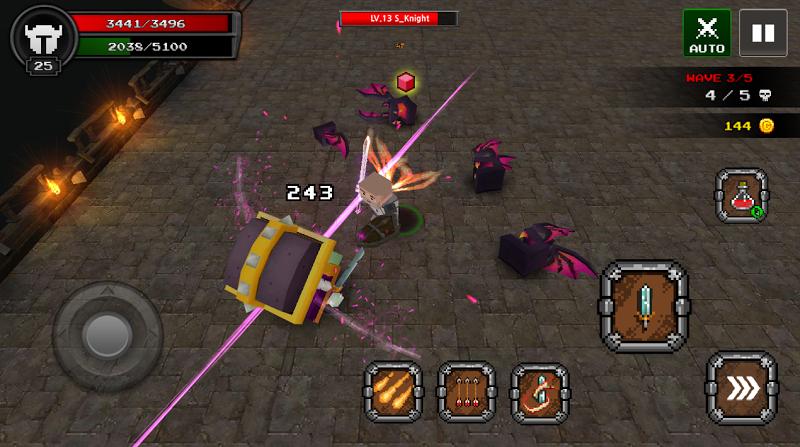 Pixel F Blade - 3D Fantasy rpg Screenshot 4