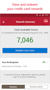 Bank of America- screenshot thumbnail