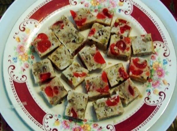 Cherry Delight Squares Recipe