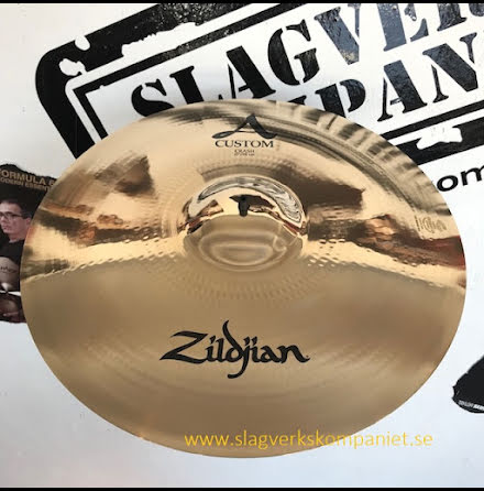 "19"" Zildjian A Custom - Crash"
