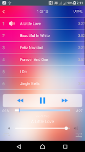 iMusic for Iphone X / Music player iOS 11 - náhled