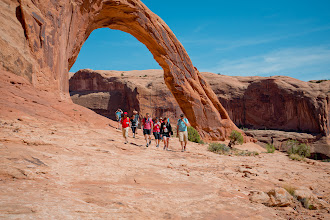 Photo: A parting view of Corona Arch.