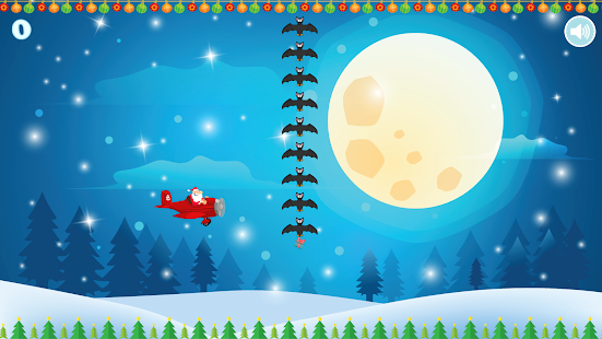 Flappy Tappy Santa Plane - Christmas Holiday Game Screenshot