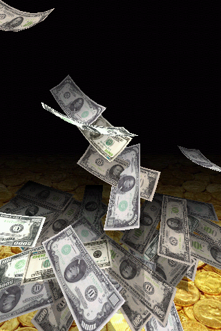 Falling Money 3D Live Wallpaper Pro Screenshot 7