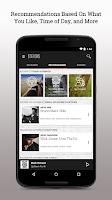 Screenshot of Slacker Radio
