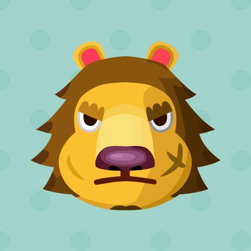 あつ森 住民 ライオン
