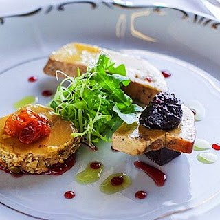 Royal French Appetizer – Homemade Foie Gras.