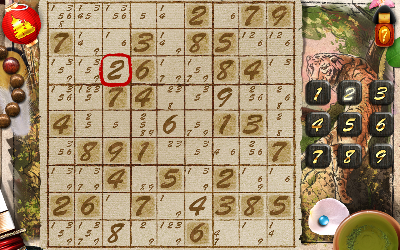Sudoku Samurai HD- screenshot