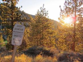Photo: On North Backbone Trail south of Blue Ridge