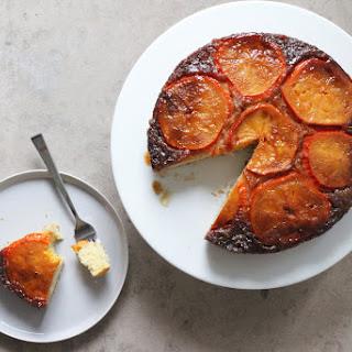 Persimmon Upside Down Cake Recipe