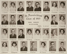 Photo: 8th grade graduating class of 1961