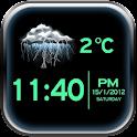 Night Clock Weather Widget icon