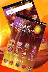 Diwali Launcher : Diwali Theme 2017 - náhled