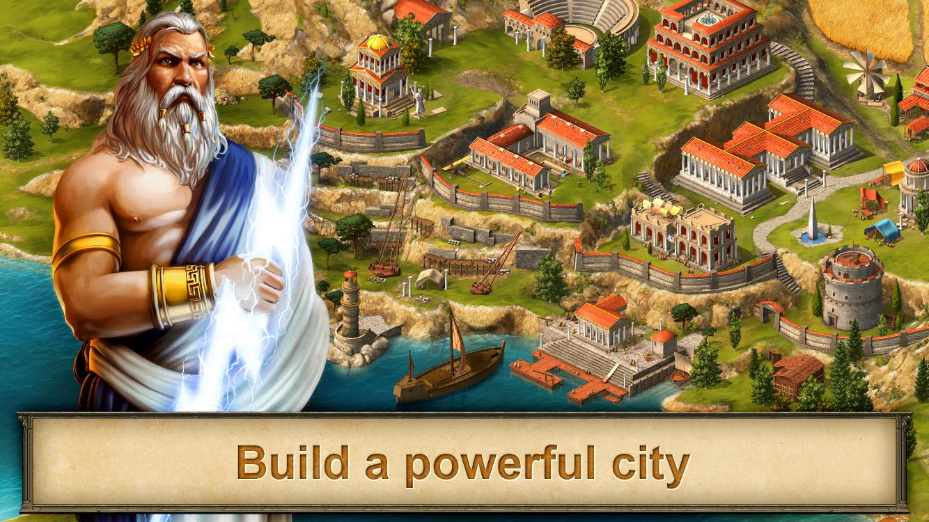 Grepolis - Divine Strategy MMO- screenshot