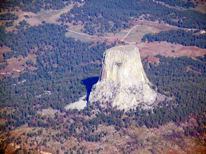 Photo: Devil's Tower... first of many