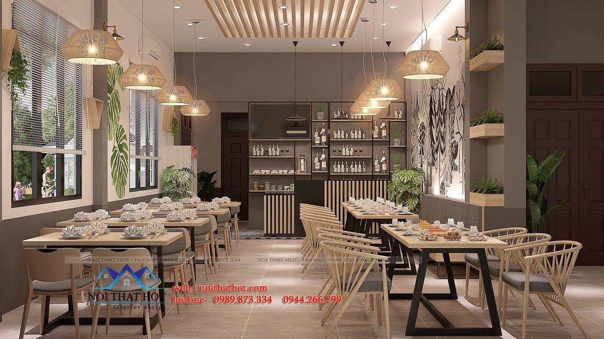 thiết kế nhà hàng trường giang 7