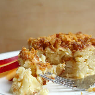 Cottage Cheese Noodle Kugel (Dairy).