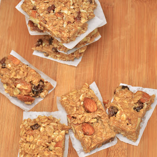 Almond and Cranberry 'Ice-Cream' Protein Bars