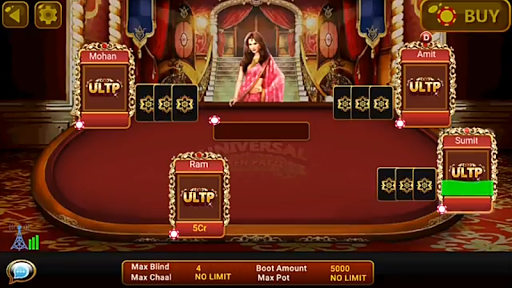 Universal Teen Patti - Indian Poker Game  captures d'écran 5