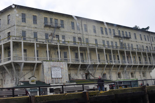 Alcatraz-upon-arrival-1.jpg - The federal prison on Alcatraz Island in the chilly waters of  San Francisco Bay housed some of America's most dangerous felons.
