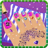 Princess Nail Salon Makeover