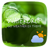 Water Drop GO Weather Theme