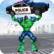Incredible Monster Robot Hero Crime Shooting Game