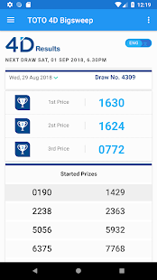 Download TOTO 4D Bigsweep Results Singapore APK latest version App