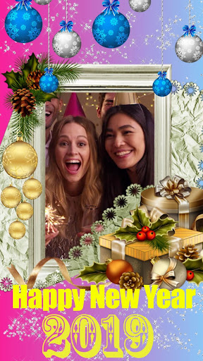 Happy New Year Photo Frame 2019 New Year Wishes ?????? hack tool