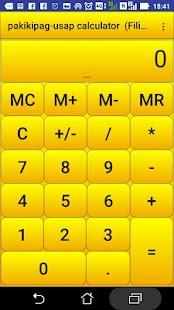 pagsasalita calculator - náhled
