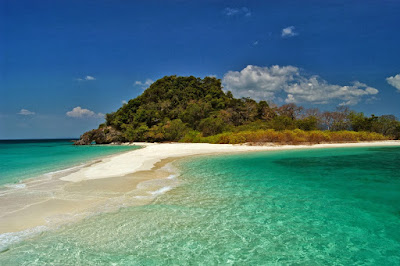 Sandbar at 4 Islands in Krabi