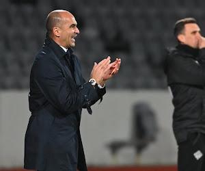"""Roberto Martinez n'a d'yeux que pour Romelu Lukaku : """"Le meilleur attaquant du monde"""""""