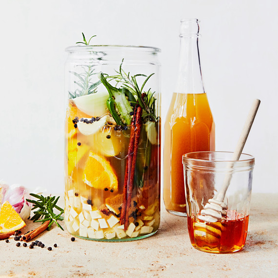 Spicy Fire Cider Recipe – Natural Cold Remedy