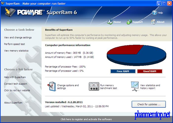 PGWare SuperRam Free Download