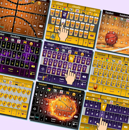 Keyboard Lakers IconMe