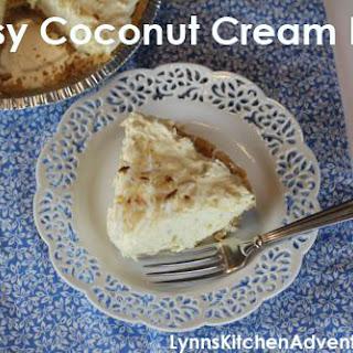 Quick and Easy Coconut Cream Pie {Pi-Day}.