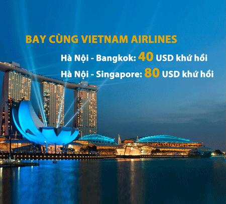 Săn sale của các hãng là cách đặt vé máy bay đi Bangkok giá rẻ cho mùa lễ hội