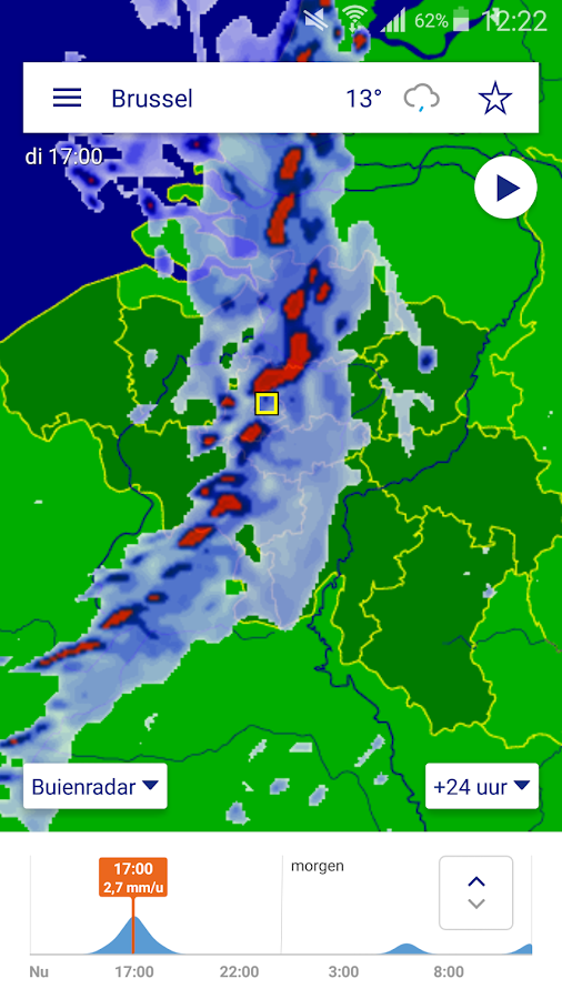 Buienradar - weather- screenshot