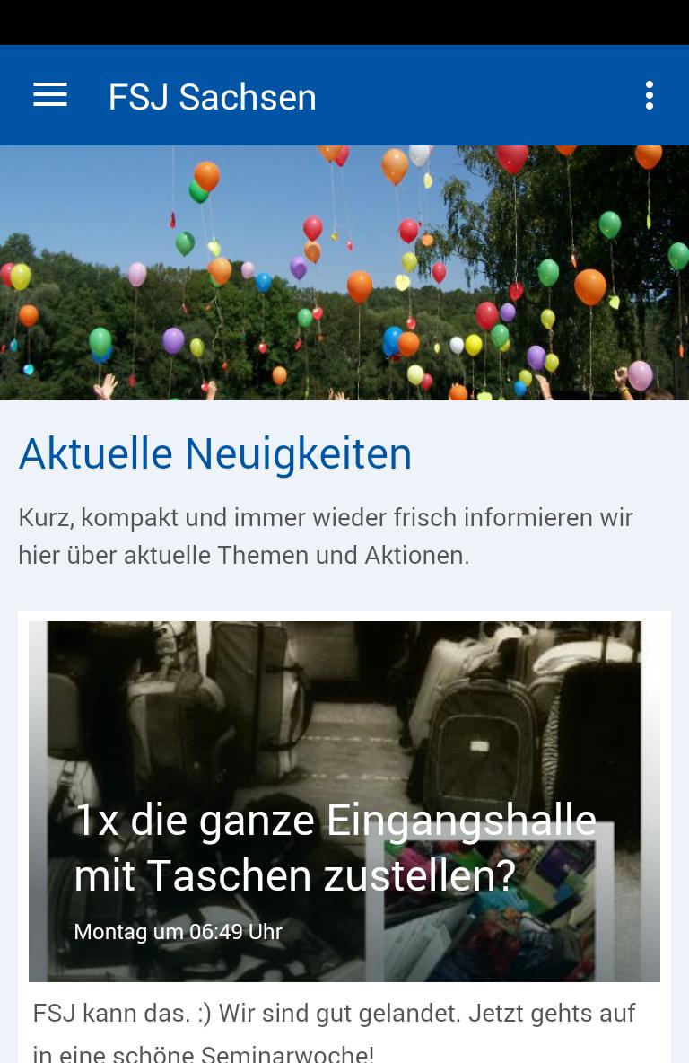 Скриншот FSJ Sachsen