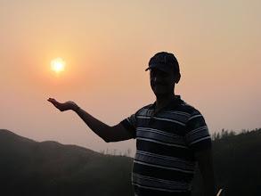 Photo: Surya bhagawan :)