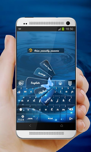 Blue Butterfly GO Keyboard