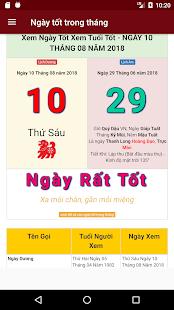 App Xem Ngay Tot, Xem Ngay Tot Xau, Ngay Gio Xuat Hanh APK for Windows Phone