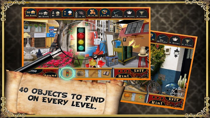 android Trip to Spain - Hidden Object Screenshot 3