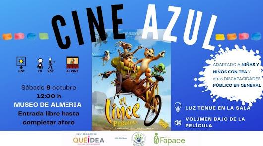 Cine AZUL  en el Museo de Almería, un paso más hacia el ocio familiar inclusivo