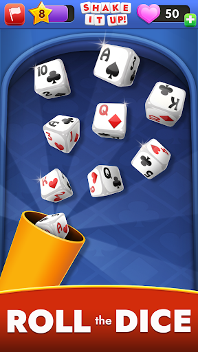 SHAKE IT UP! Dice Poker android2mod screenshots 1