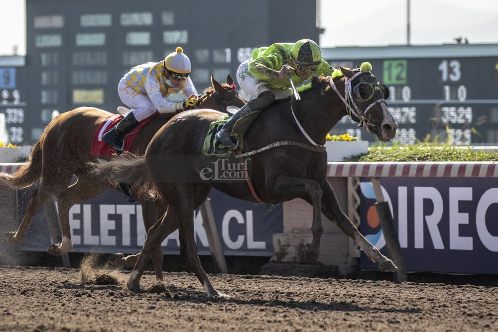 Forever Beauty (Forever Thing) gana Condicional (1200m-Arena-HCH).