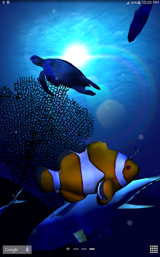 Ocean Blue 3D- screenshot