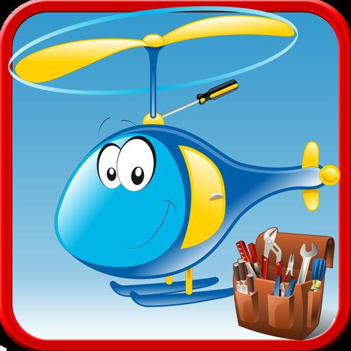 クレイジーヘリコプタービルダーゲーム 休閒 App LOGO-硬是要APP