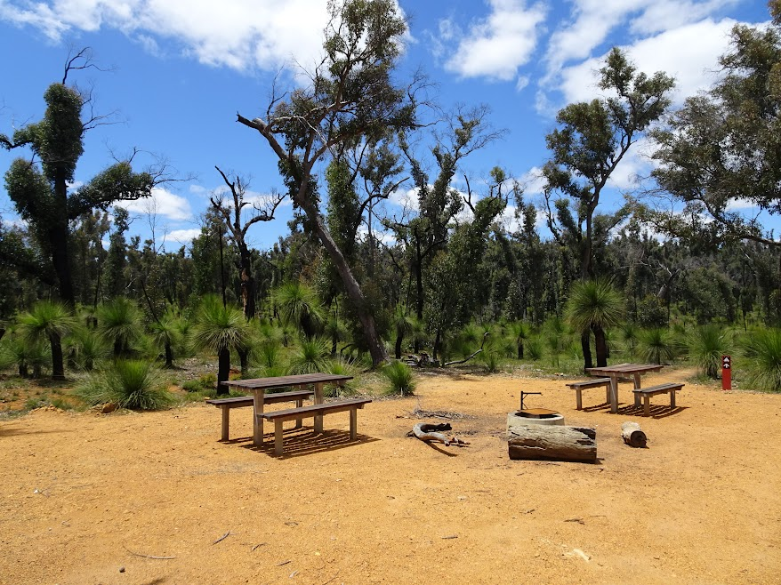 Brookton Shelter picnic tables